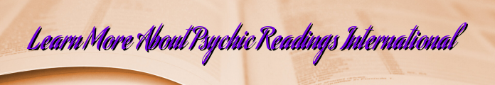 Learn More About Psychic Readings International