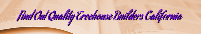 Find Out Quality Treehouse Builders California